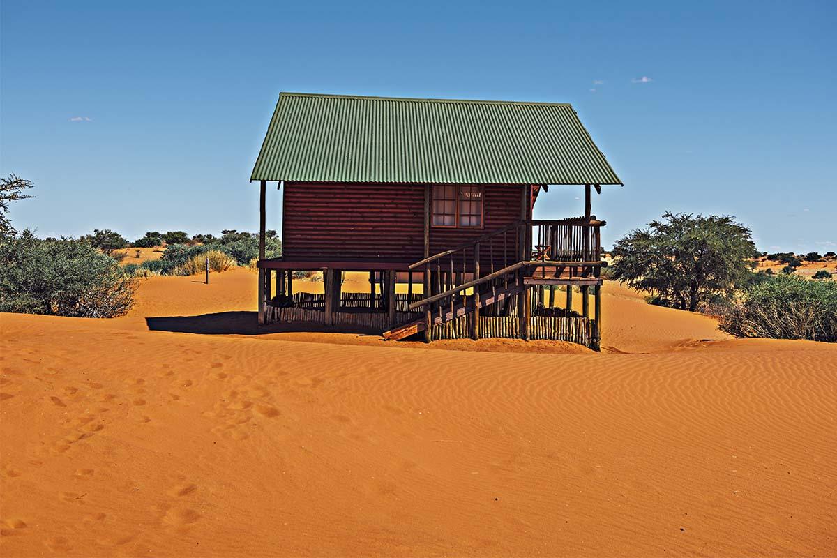 Hütte in der Bagatelle Game Reserve Lodge