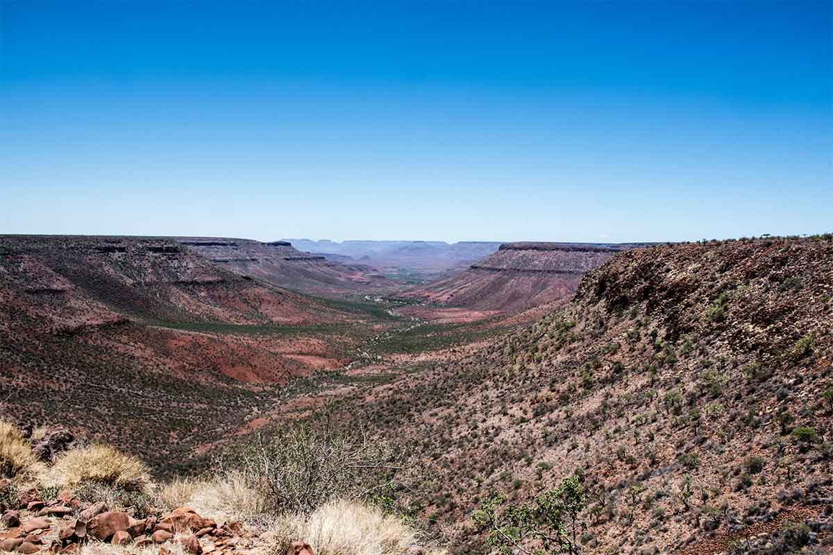 Klip River Tal Namibia