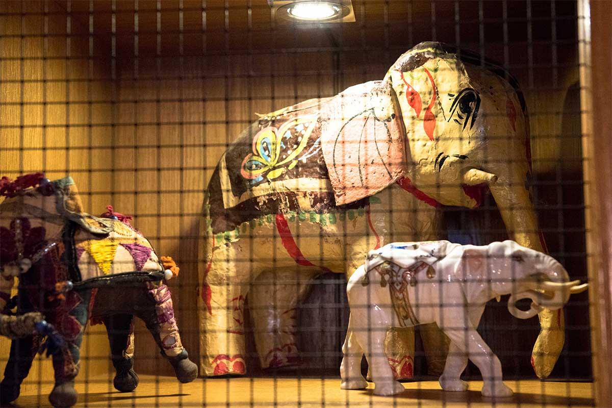 Elefantensammlung des Hotel Elephant