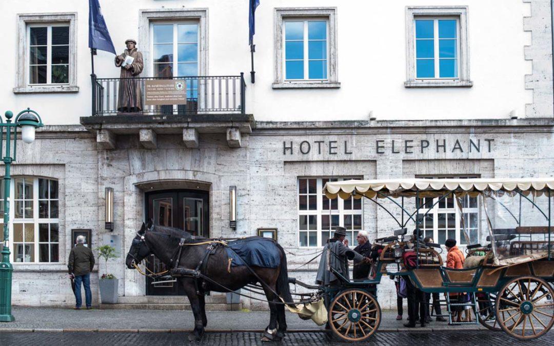 Hotel Elephant in Weimar – Geschichte, Kunst & Genuss