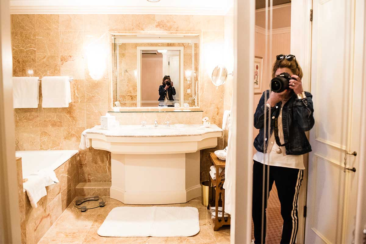 Bad im Regent Hotel Berlin
