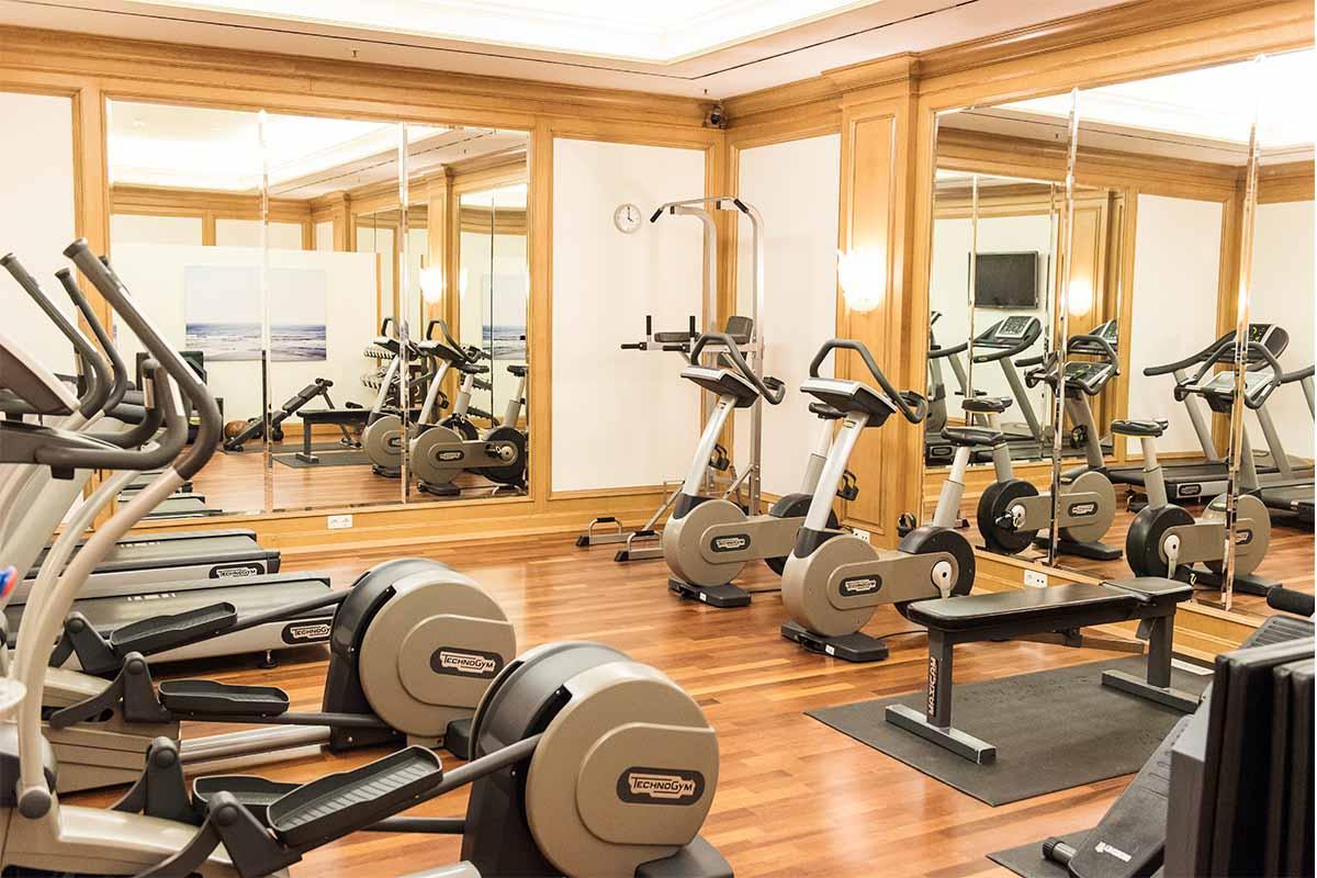 Fitnessraum im Regent Hotel Berlin