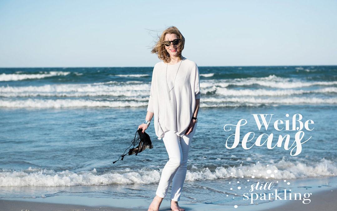 Weiße Jeans – perfekter Begleiter im Frühjahr
