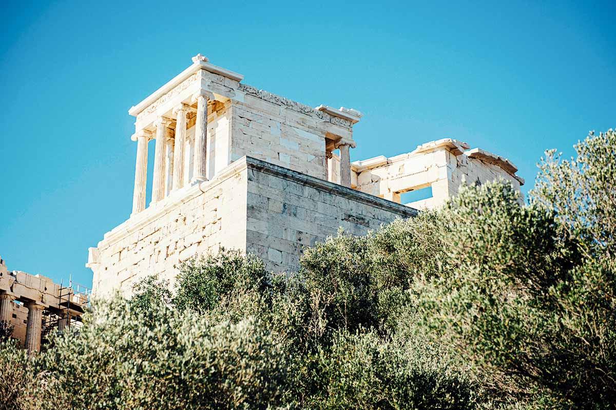 Tempel auf der Akropolis