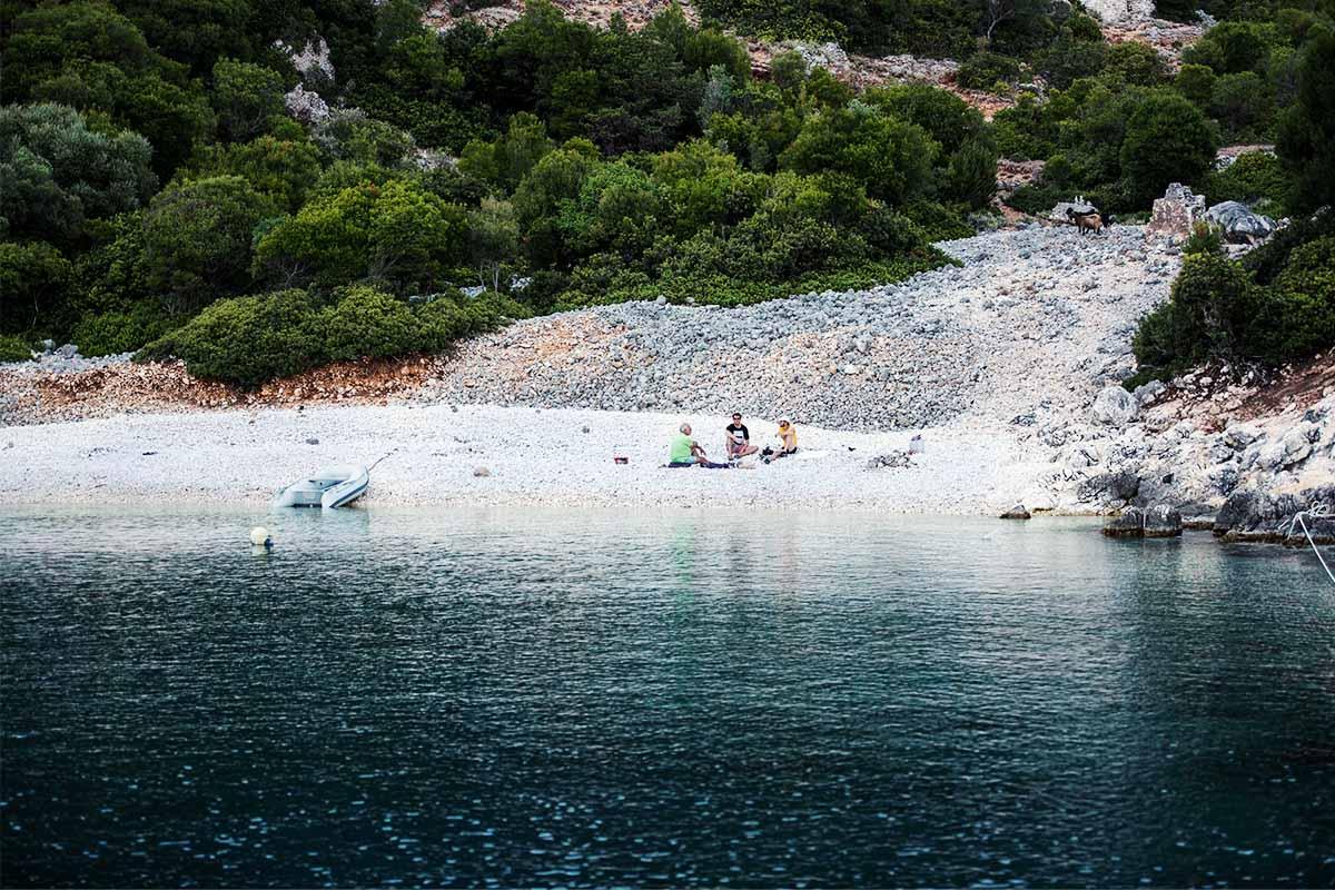 Segeltörn in Griechenland