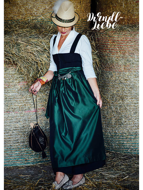 traditionelles Dirndl