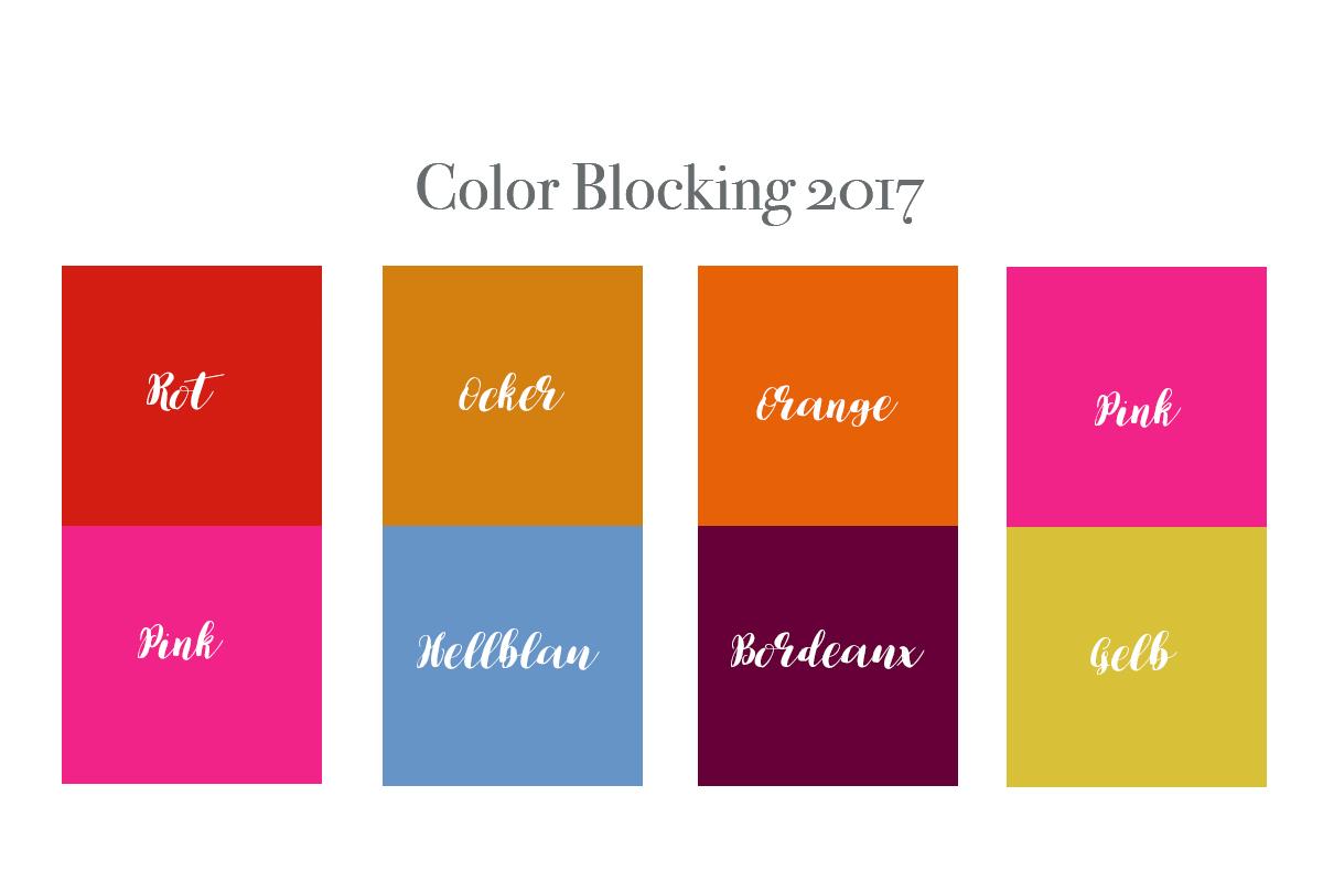 Color Blocking 2017