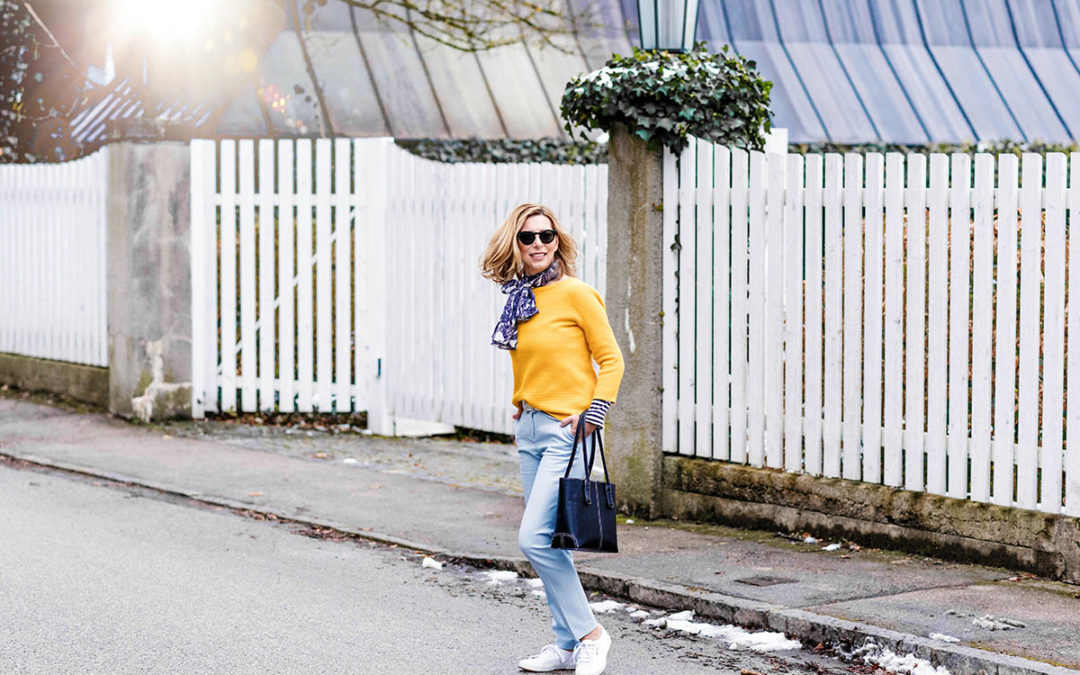 Trendfarben 2018: Frühling in Hellblau und Gelb