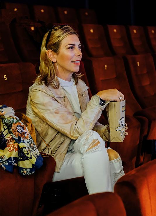 Allein ins Kino