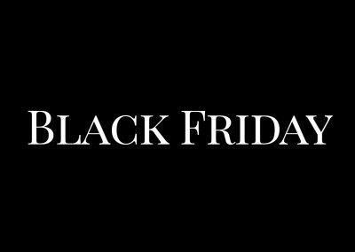 Aufgepasst und zugefasst – Der Black Friday naht