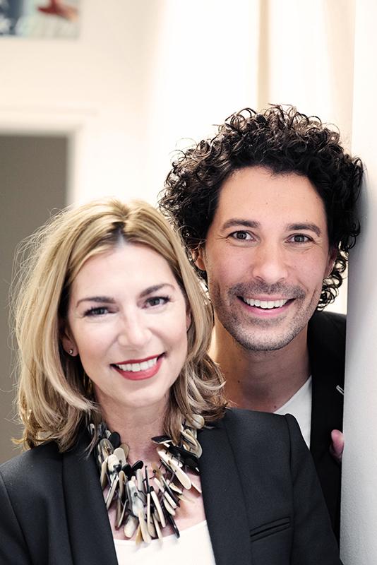 Boris Entrup und Martina Klein
