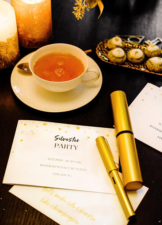 Einladungen: Stilvoll und handgeschrieben