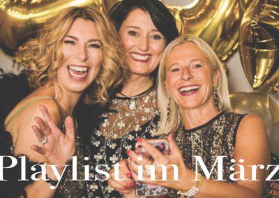 Playlist im März – I'm every woman