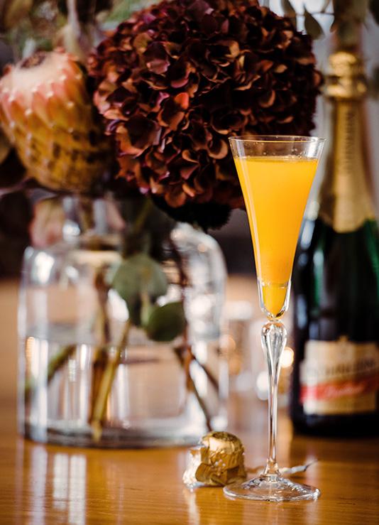 Herbst Cocktail: Kürbis im Glas