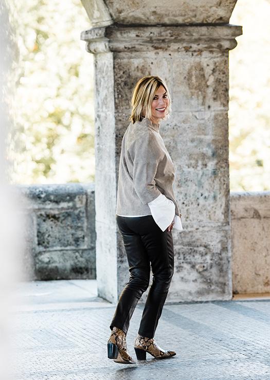Ledermode: So style ich meine schwarze Lederhose