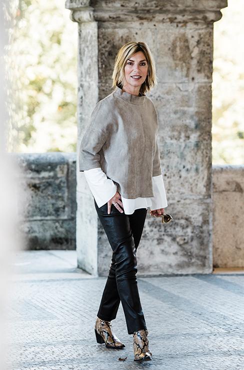 Freunde fürs Leben: So style ich meine schwarze Lederhose