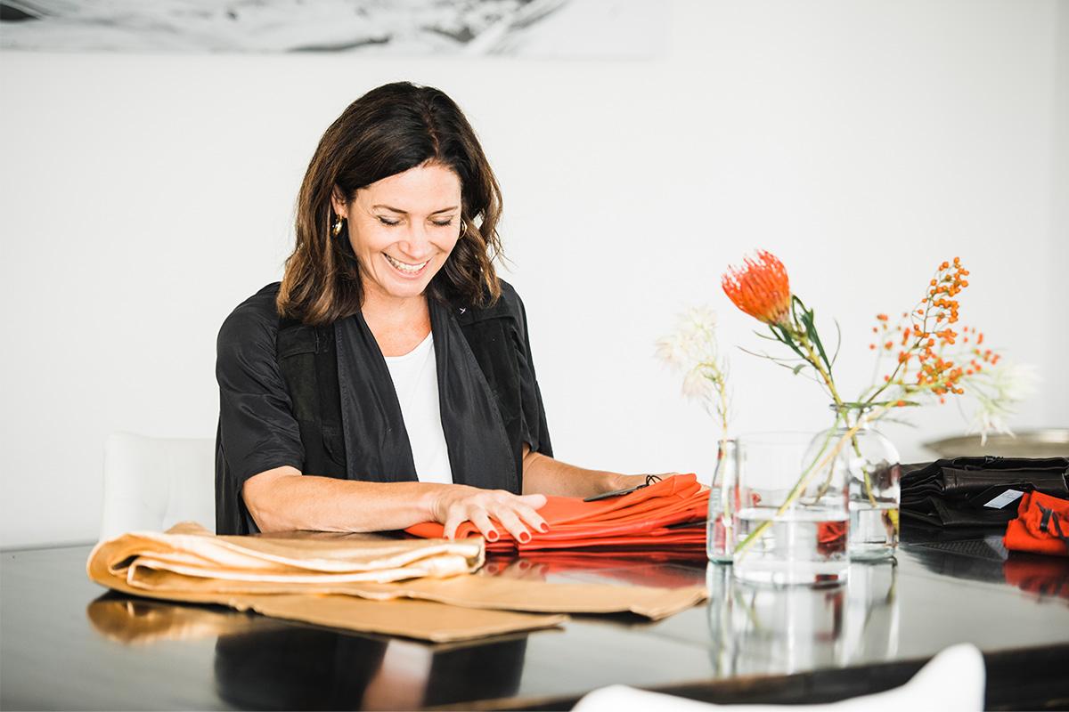 Ledermode zum Wohlfühlen. Ein Interview mit Designerin Tina Fricke.