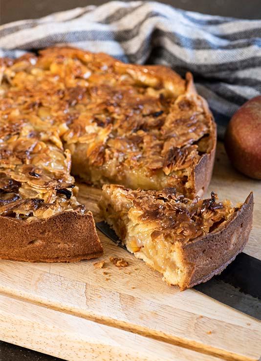 Rezept Apfel-Mandel-Kuchen: Keep calm and eat cake