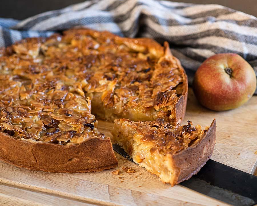 Rezept Apfel-Mandel-Kuchen