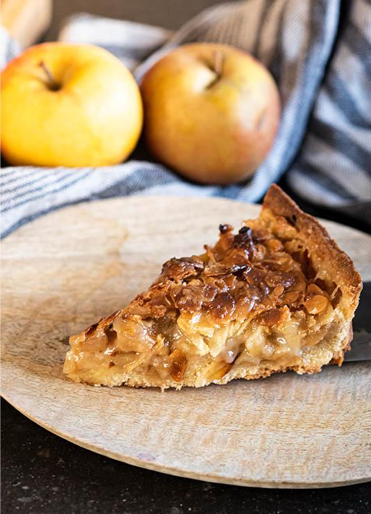 Apfel-Mandel-Kuchen