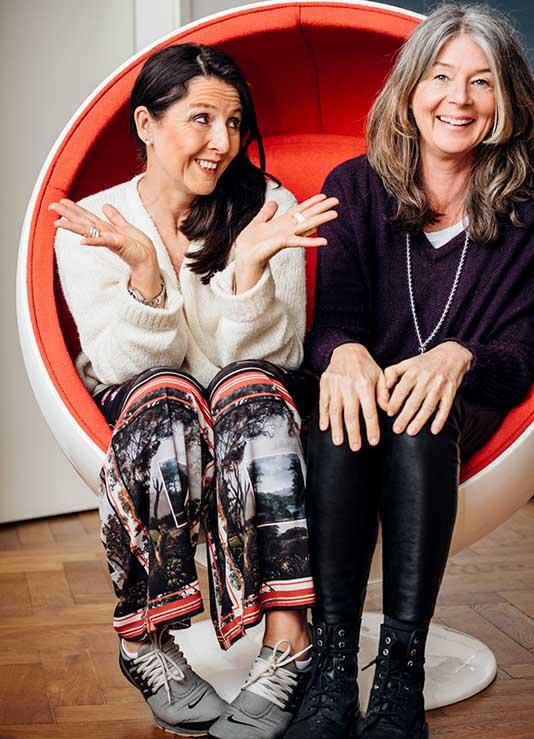 Sabine Fuchs und Uli Heppel