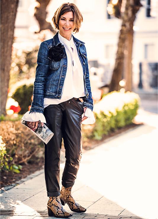 Jeansjacke: aus alt mach neu. Und was Anna Wintour dazu sagen würde …