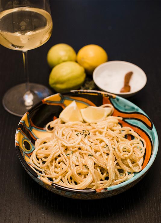 Eine große Liebe: Zitrone trifft Nudel