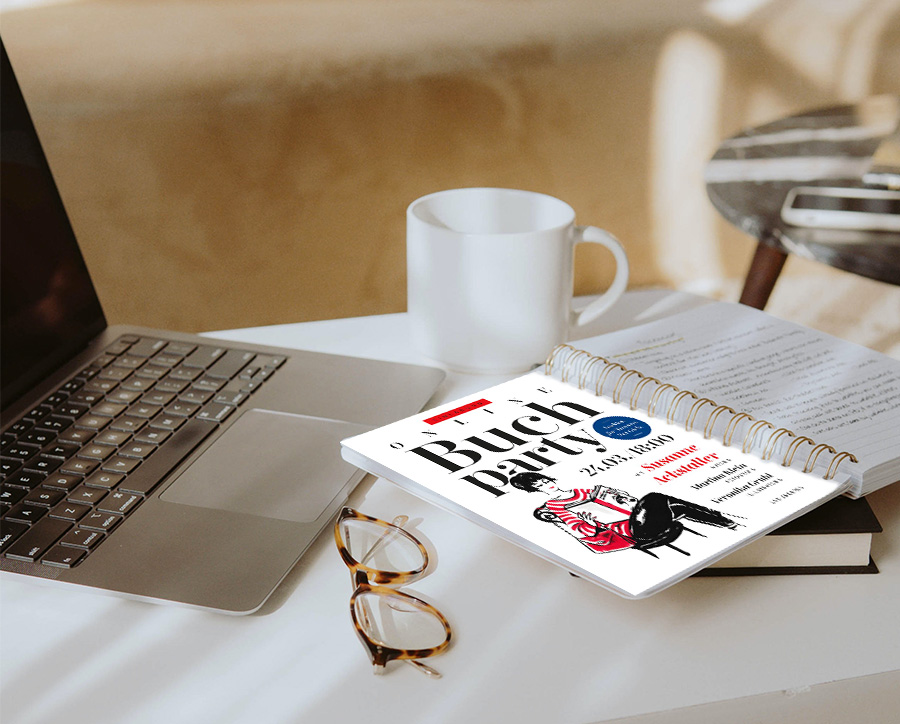 Einladung Lesung Die beste Zeit für guten Stil